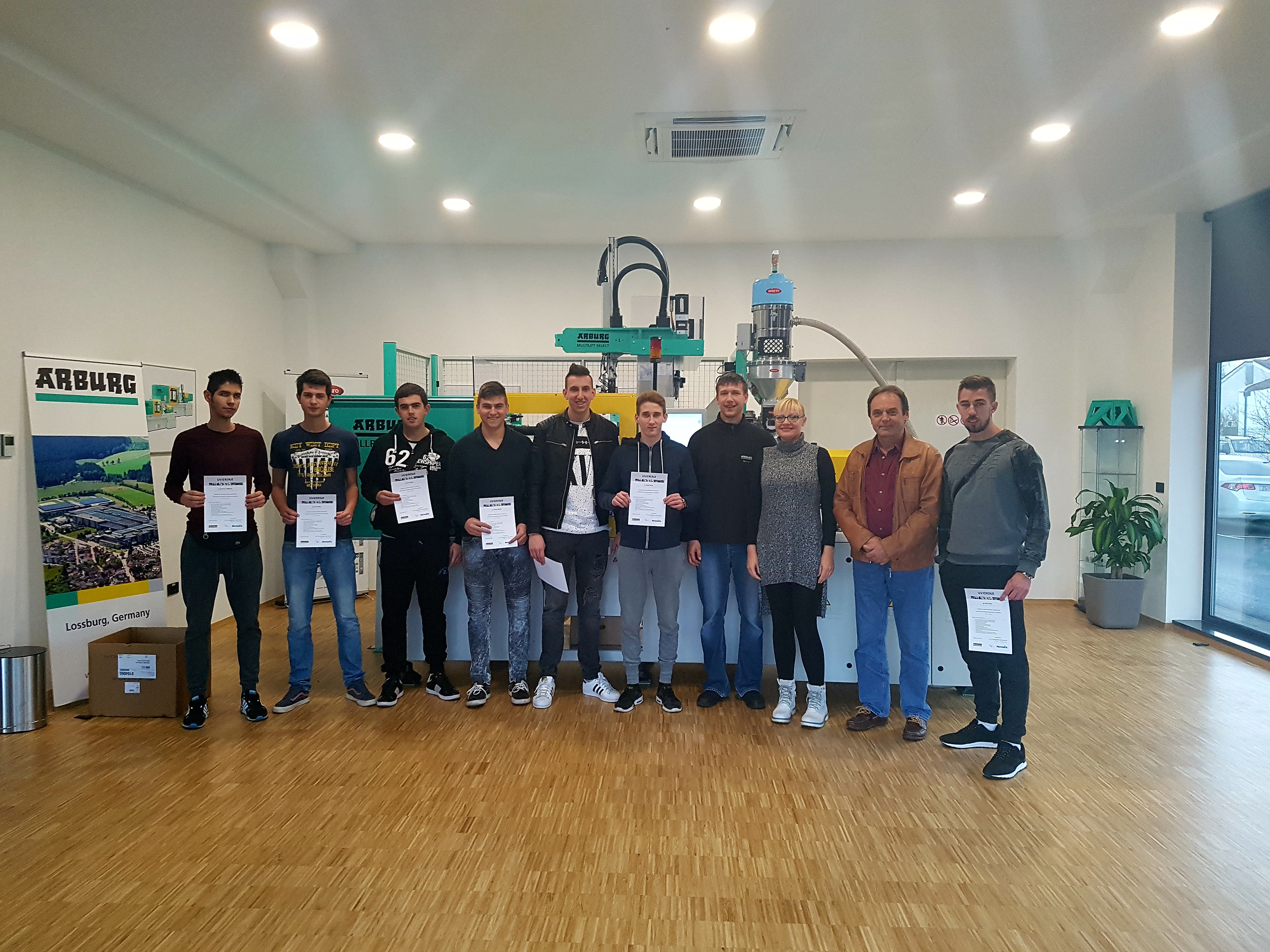 Completion of education for the first generation of operators in our Tech Center